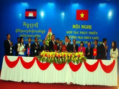 Thúc đẩy thương mại giữa Tây Nguyên với các tỉnh Đông Bắc Campuchia