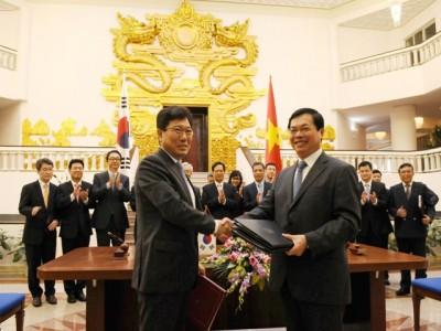 Việt Nam, Hàn Quốc ký kết Hiệp định Thương mại tự do